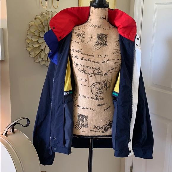 Nautica Other - Vintage Nautica windbreaker jacket sz L